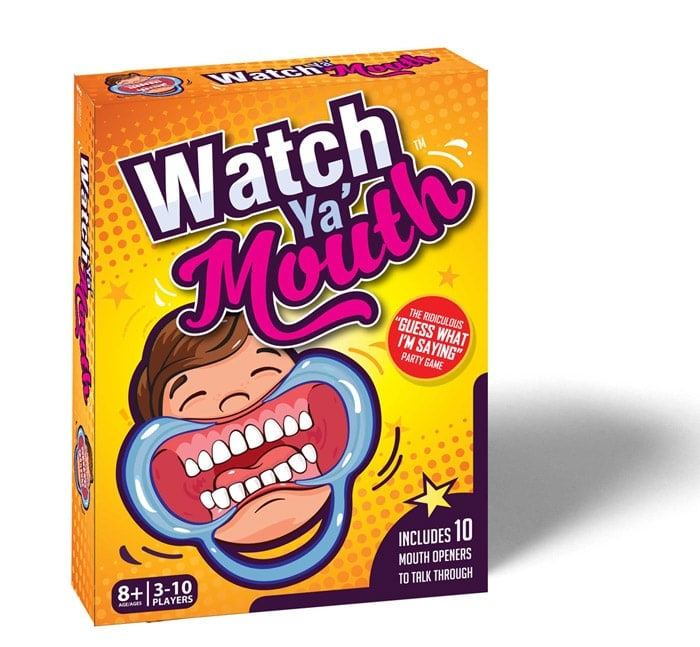 Watch Ya Mouth - Complete Base Game + Family Version Cards