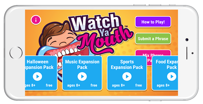 Watch Ya Mouth App